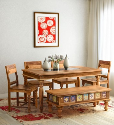 Buy Six Seater Dining Table Price in India