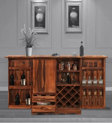 buy home bar cabinet online in india