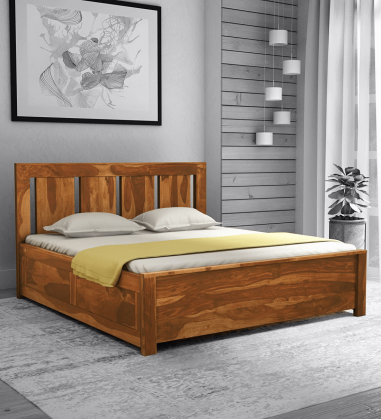 Buy wooden king size bed online