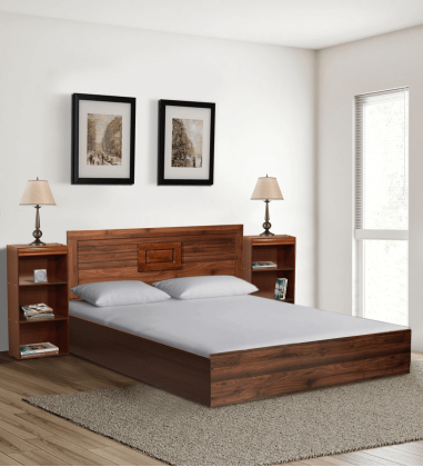 Buy queen size bed with storage online in Bangalore India