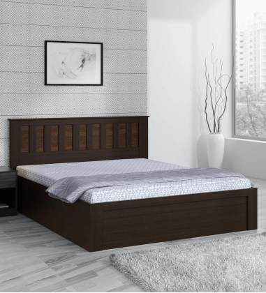 Best Queen Size Bed with Mattress in India, Buy queen size bed with storage online