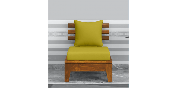 Buy single wooden 1 seater sofa chair online
