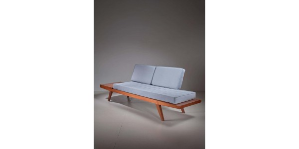 wooden 2 seater sofa near me