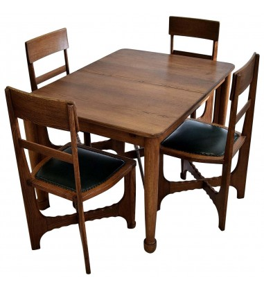 Buy glass dining table with 4 seater online