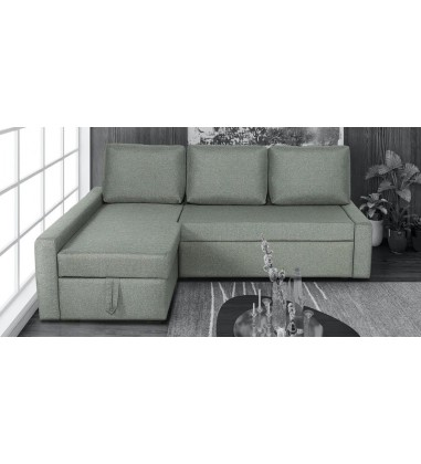 buy l shape fabric sofa set online in India